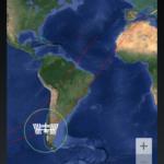 Übersichtskarte mit ISS Position