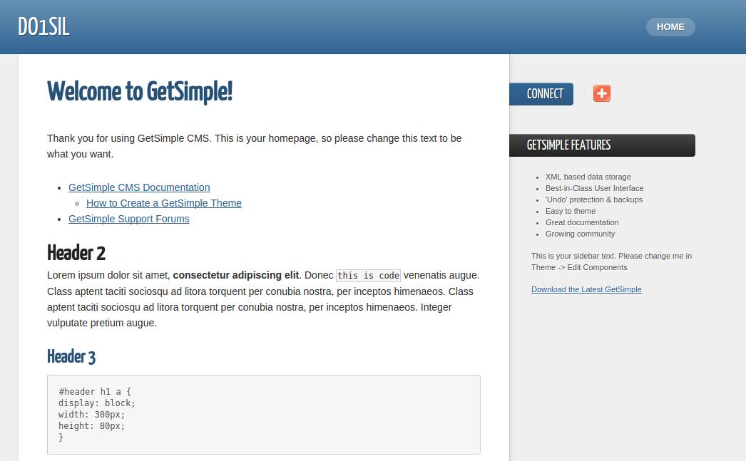 Wie du mit GetSimple CMS eine Webseite auf deinem DARC-Webspace ...