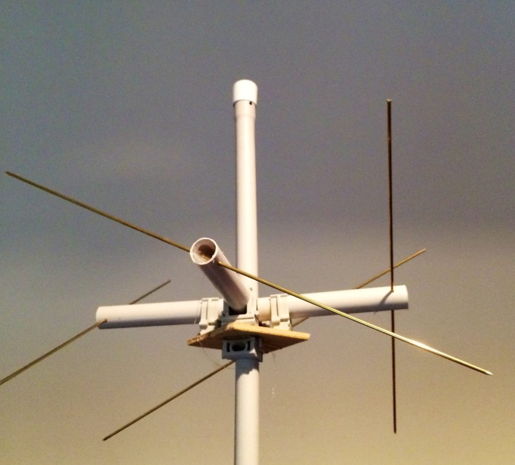 Parasitär erregte Lindenblad Antenne