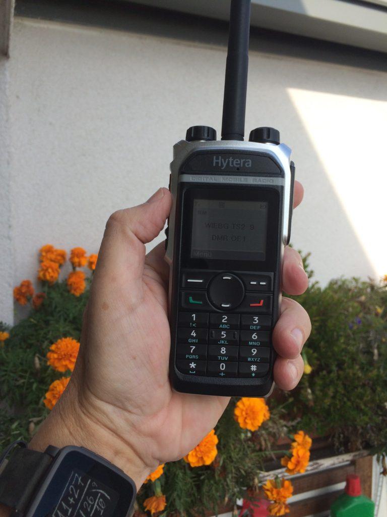 Das PD685 liegt gut in der Hand