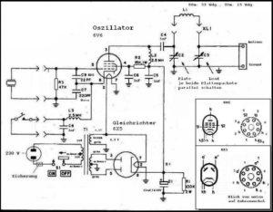 Ameco AC-1 Schaltbild