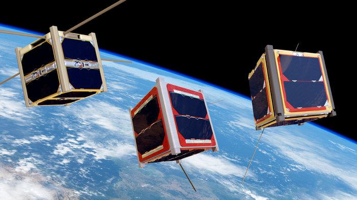 Bild (CubeSats): ESA