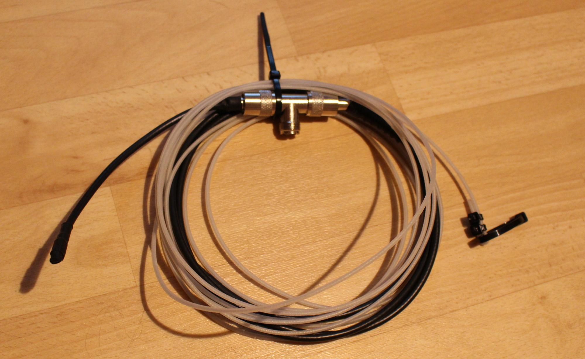 wie du mit wenig aufwand eine lambda halbe koax antenne. Black Bedroom Furniture Sets. Home Design Ideas