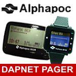 DAPNET-Meldeempfänger von Alphapoc