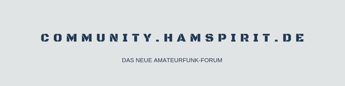 Das Amateurfunk-Forum